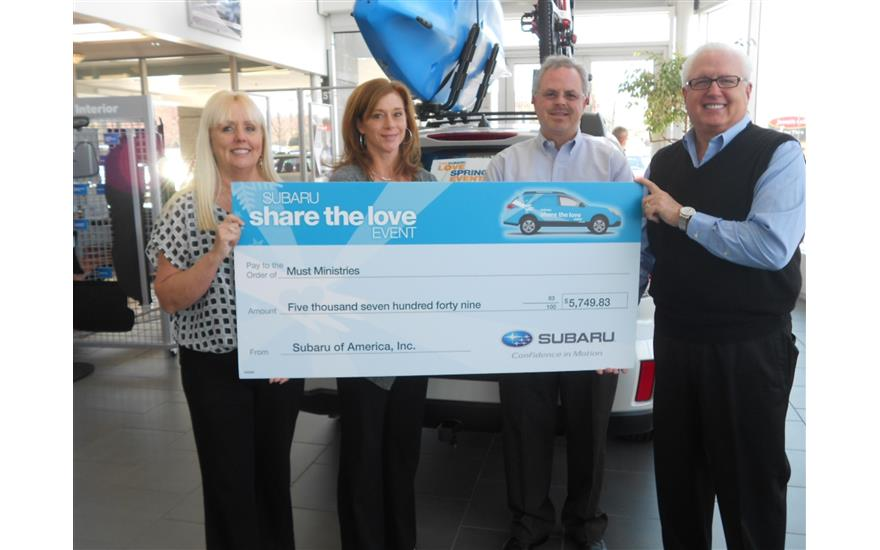 Subaru of Kennesaw Supports MUST Ministries