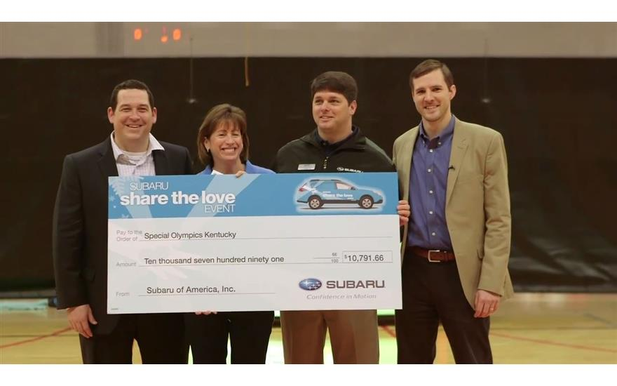 Bachman Subaru Partners With The Special Olympics Kentucky