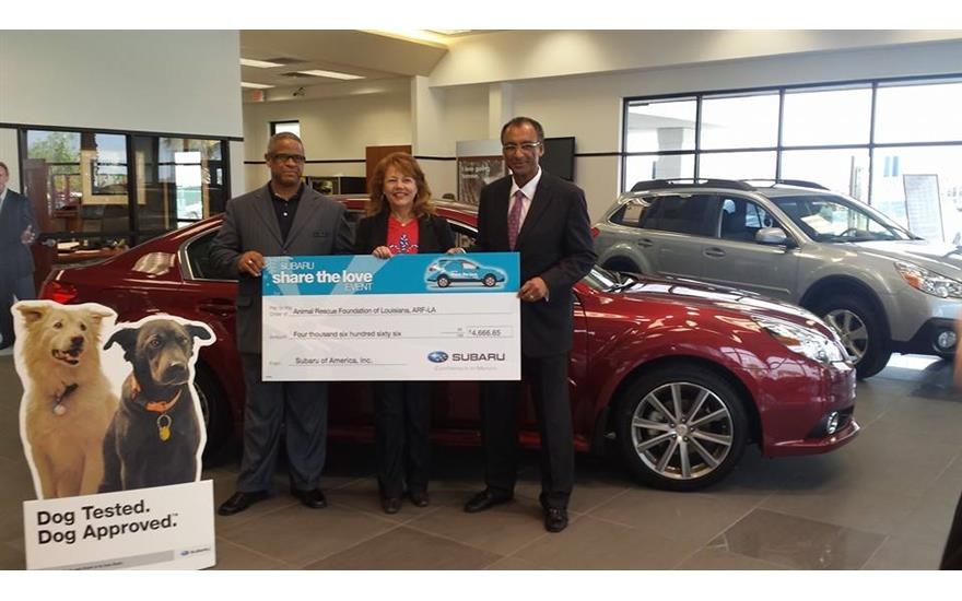 Giles Subaru Partners With Animal Rescue Foundation of Louisiana