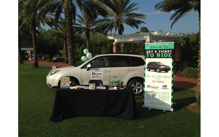 Bryan Subaru Supports Friends of City Park