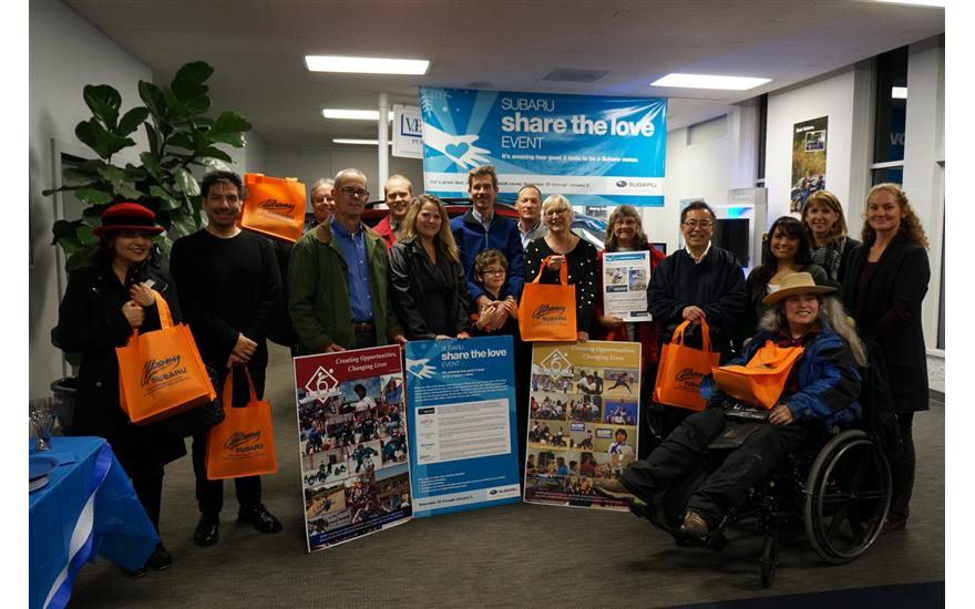 Albany Subaru supports Bay Area Outreach and Recreation Program (BORP)