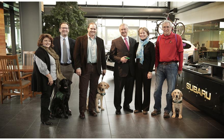 Proud to support Guide Dogs for the Blind