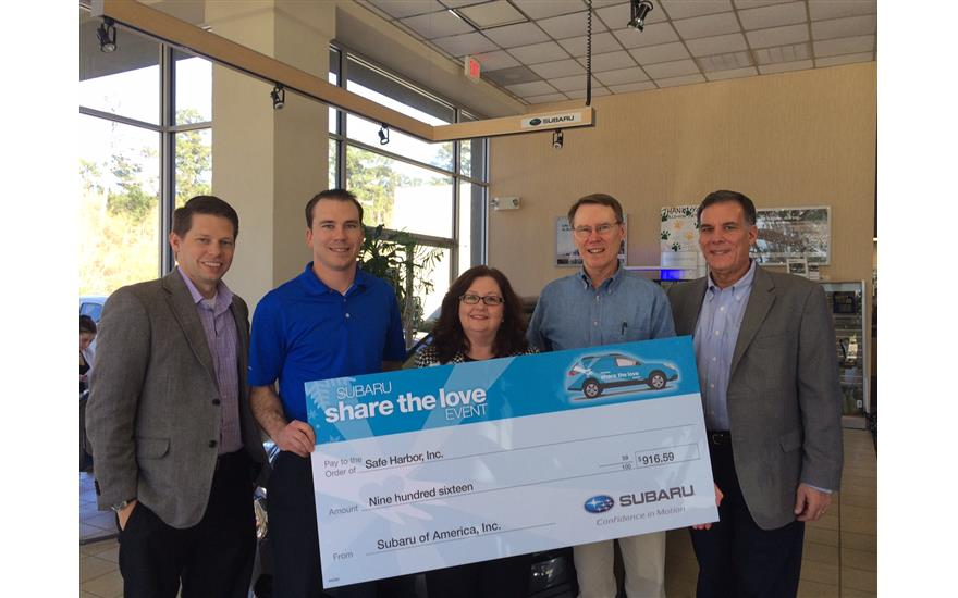 Baldwin Subaru Supports Safe Harbor