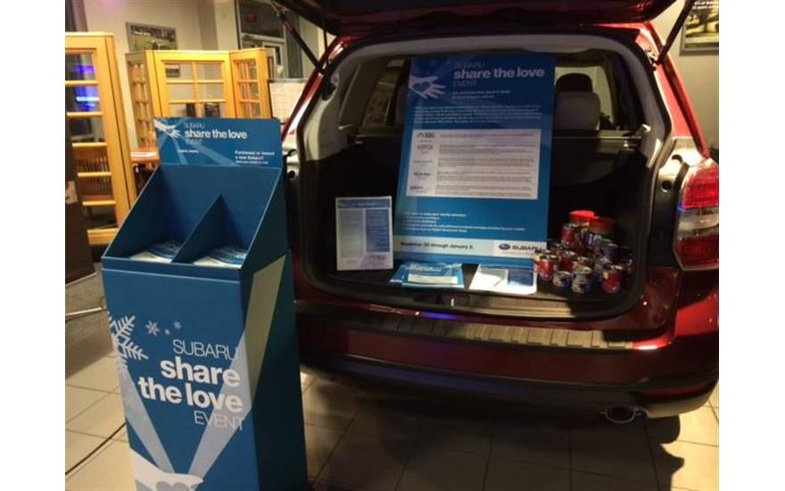 Subaru Concord Supports Cabarrus Meals on Wheels