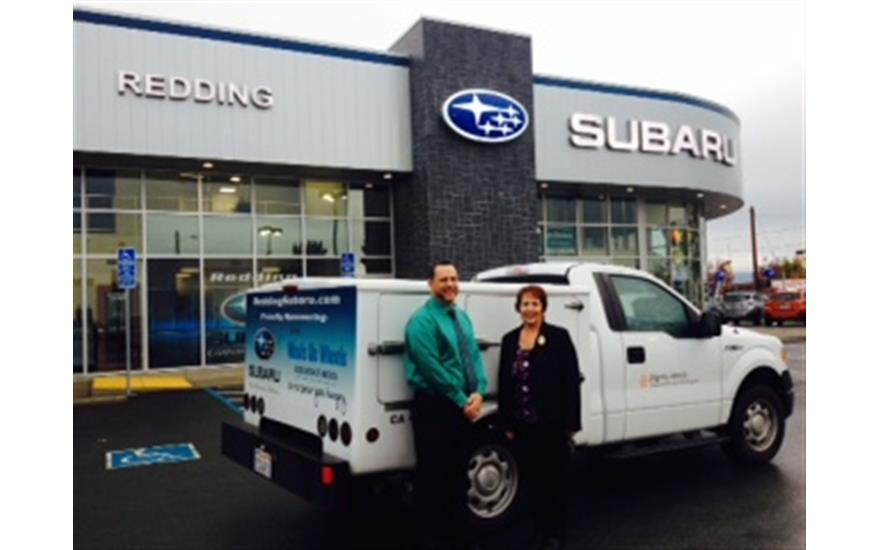 Redding Subaru Supports Shasta Senior Nutrition Program