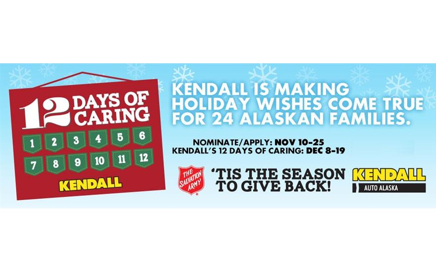 """""""12 Days of Caring"""" with Kendall Subaru of Fairbanks"""