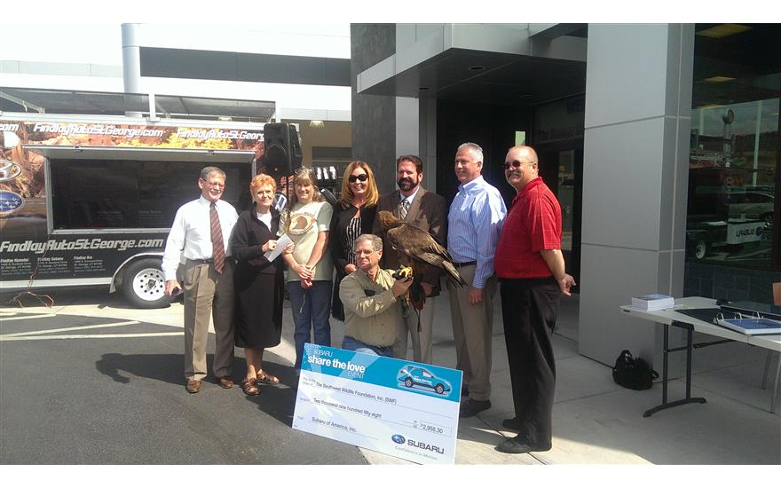 Findlay Subaru Supports Southwest Wildlife Foundation to Help Animals in Need