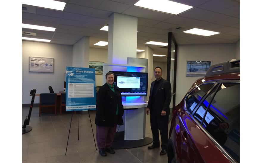 Hanson Subaru Raises Awareness for Senior Services