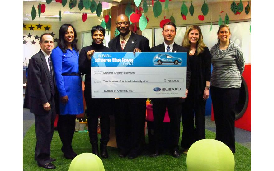 Subaru of Grand Blanc is Proud to Support Orchards Children's Services