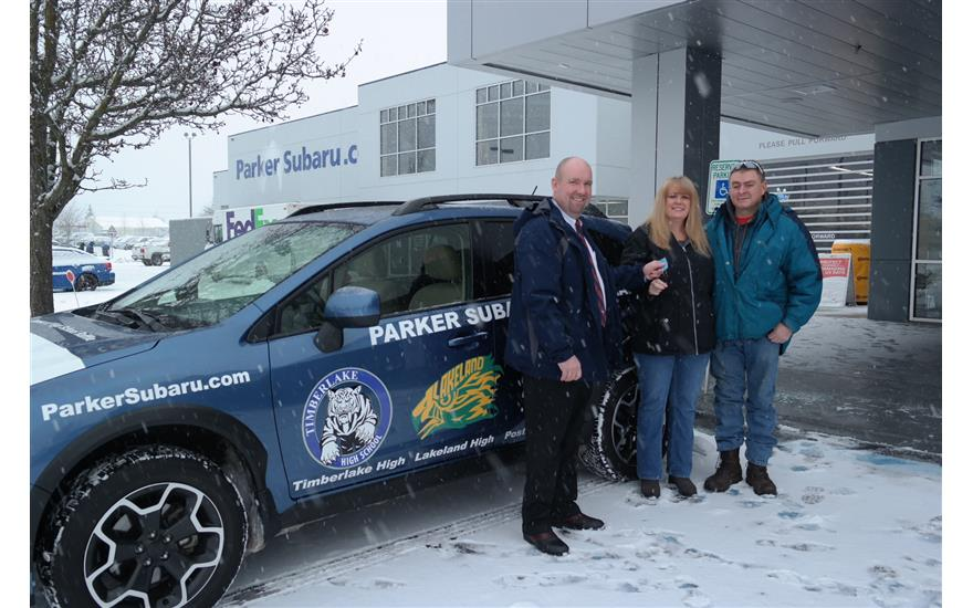 Parker Subaru Raffles Vehicle to Help Local High Schools