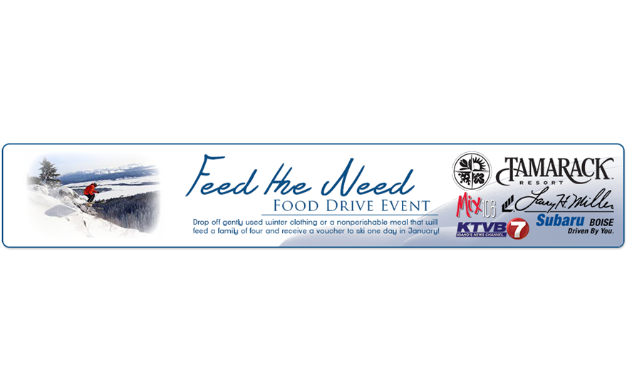 2nd Annual Feed the Need Event