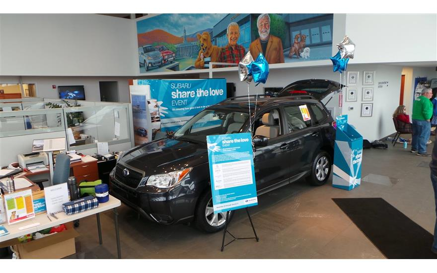 Stocker Subaru and Centre County Paws