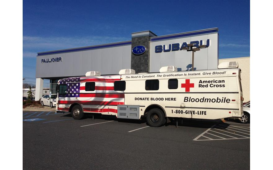 """Our """"Share the Love"""" blood drive"""