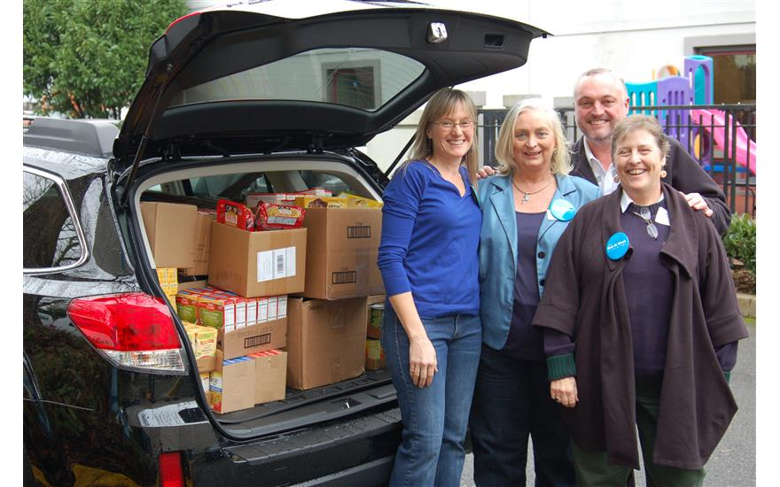 Senior Emergency Food Drive for Meals On Wheels
