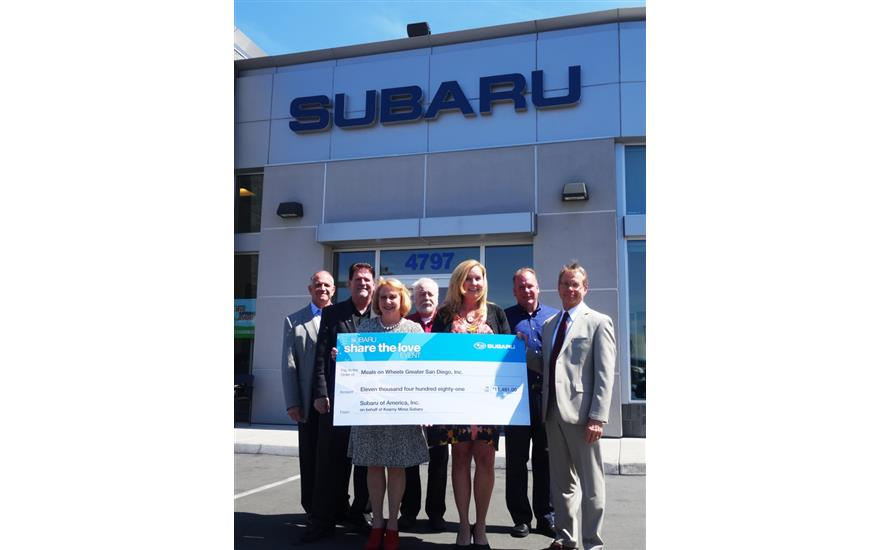 Kearny Mesa Subaru Shares the Love, Even More!