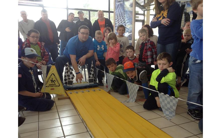 1st Annual Toe River District Pinewood Derby Race
