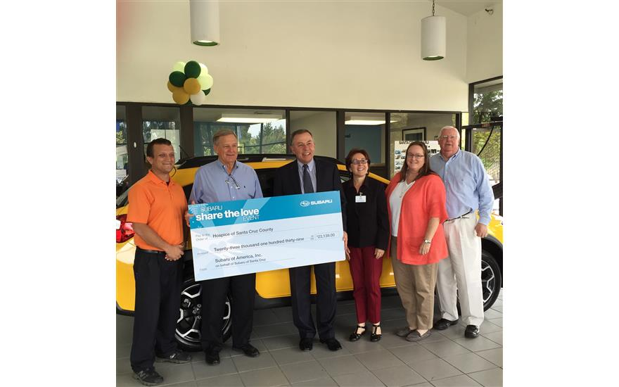 $23,139.00 Subaru Share the Love Donation
