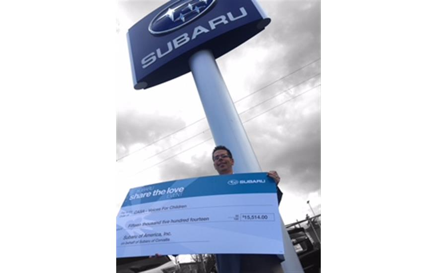 Subaru of Corvallis Shares the Love with