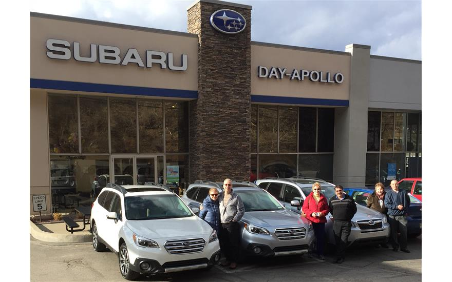 3 Sisters & Dan : Loving our Subarus and Subaru dealership