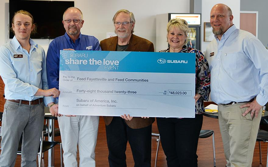 Feed Communities Receives $48,023!