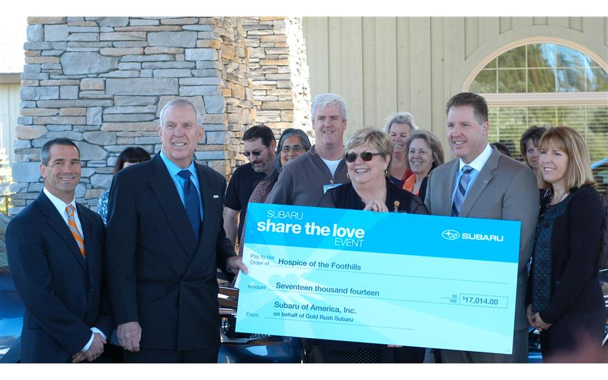 Hospice of the Foothills says Thank You
