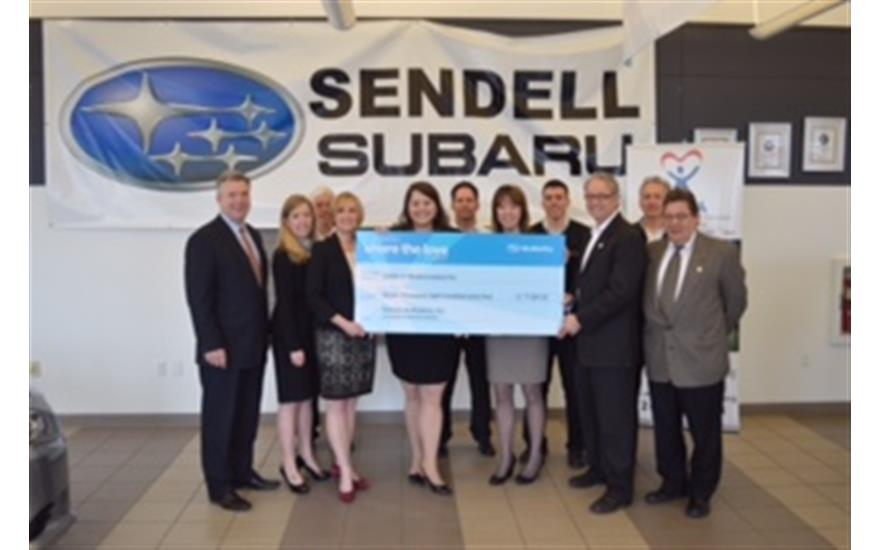 "Greensburg, PA (April 7, 2015) During the national Subaru ""Share the Love"" event, Sendell Subaru chose CASA (Court Appointed Special Advocates) of ..."