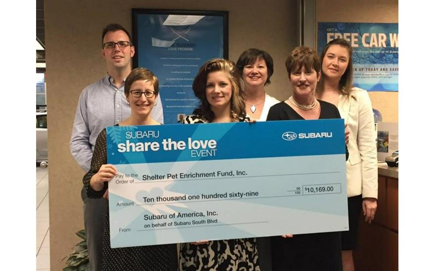 Share the Love Hometown Charity Donation