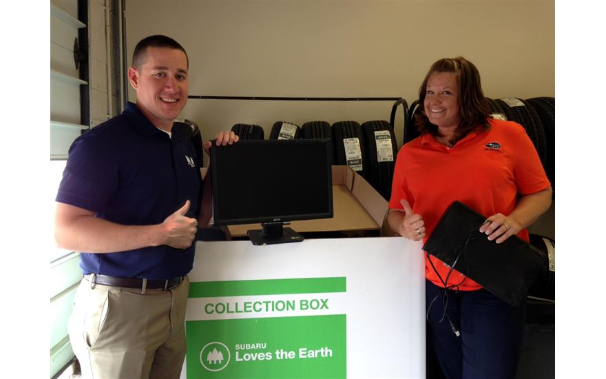 Subaru Loves the Earth E-Waste Recycling Event
