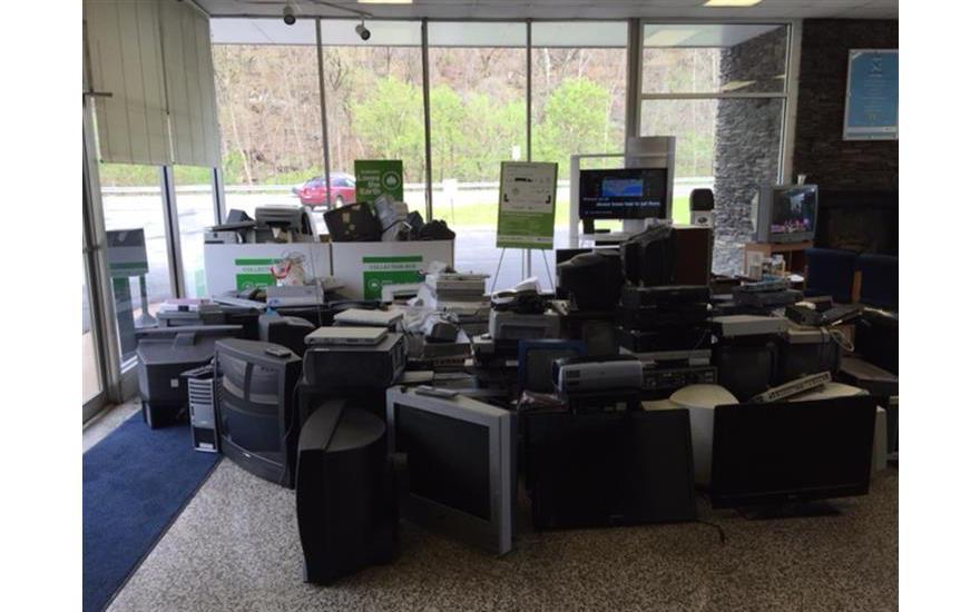 Successful E-Waste Recycling Event