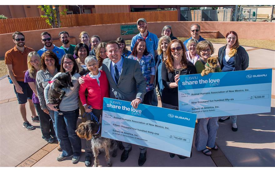 Local Dealer Raises $25,000 for Homeless Pets