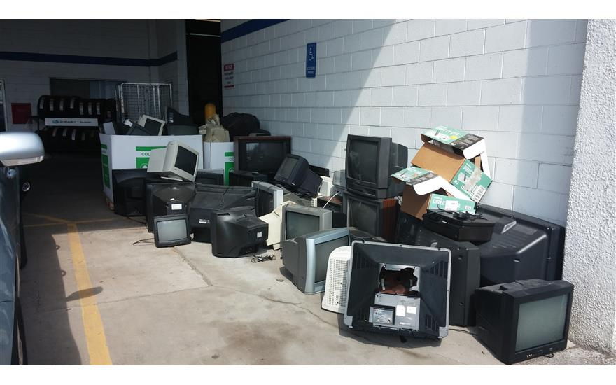 Subaru Electronics Waste Event