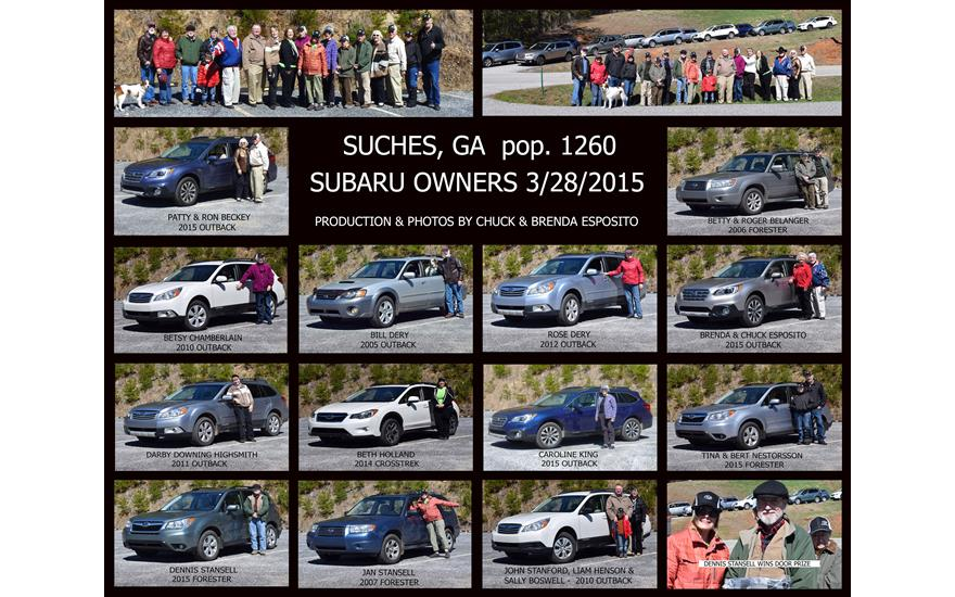 Suches Subaru Shoot