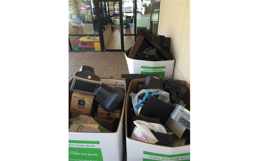 E-Waste Program Was a HUGE Success!