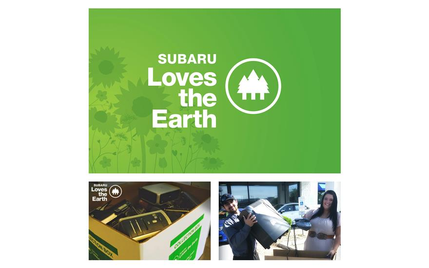 Subaru E-Waste Program