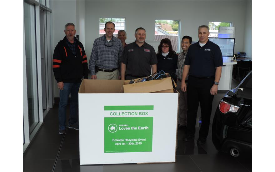 Jim Doran Subaru E-Waste Recycle Event