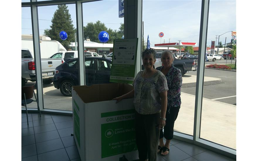 April E-Waste Recycling Event