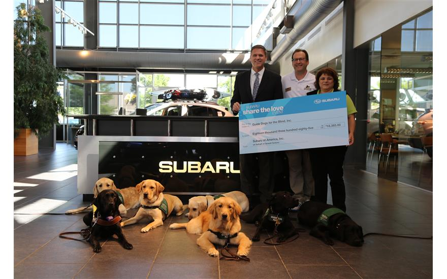 Sewell Subaru Helps Raise Funds