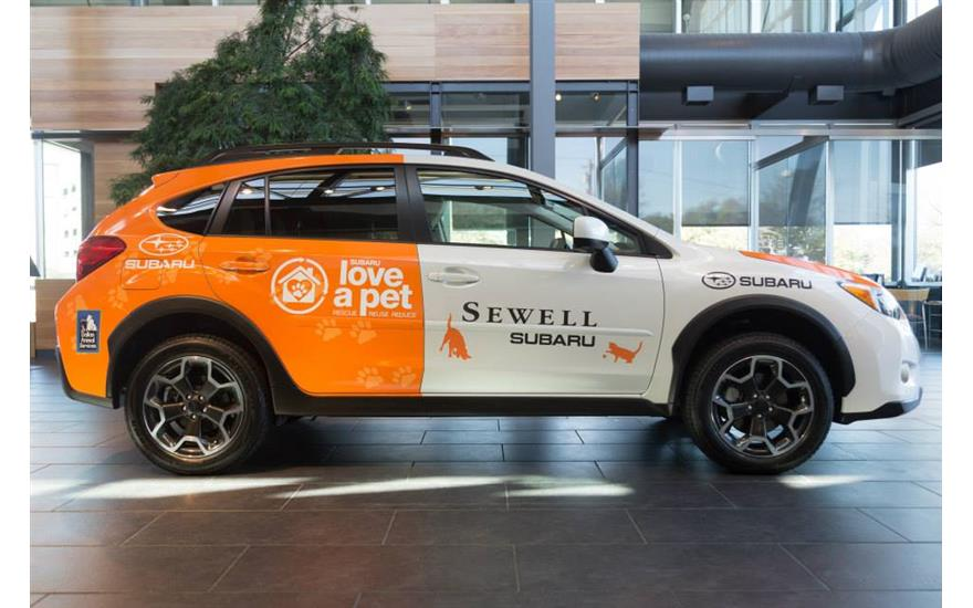Sewell Subaru Partners with Dallas Animal Services