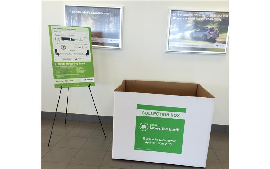 Flagstaff Subaru Supports E-Waste Recycling