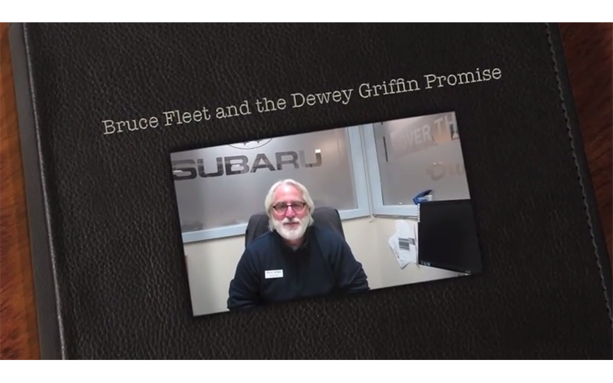 The Dewey Griffin Subaru Love Promise