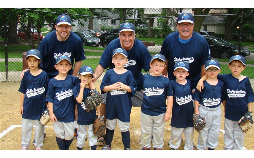 The Evanston Subaru Little League Team