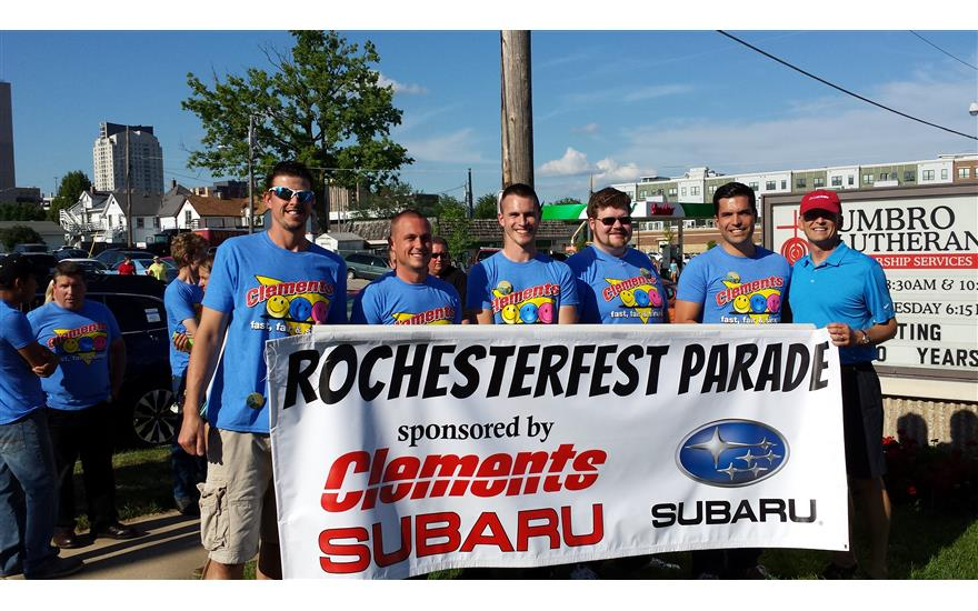 Clements Subaru sponsors Grand Parade!