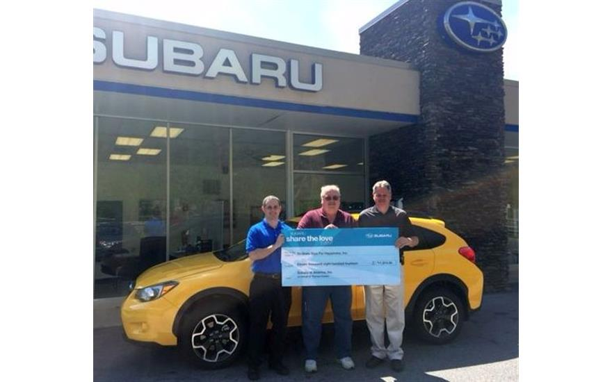 Successful Partnership with Thomas Subaru