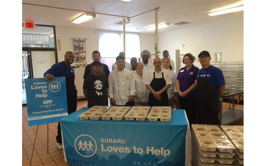 Subaru of Las Vegas Supports Meals on Wheels