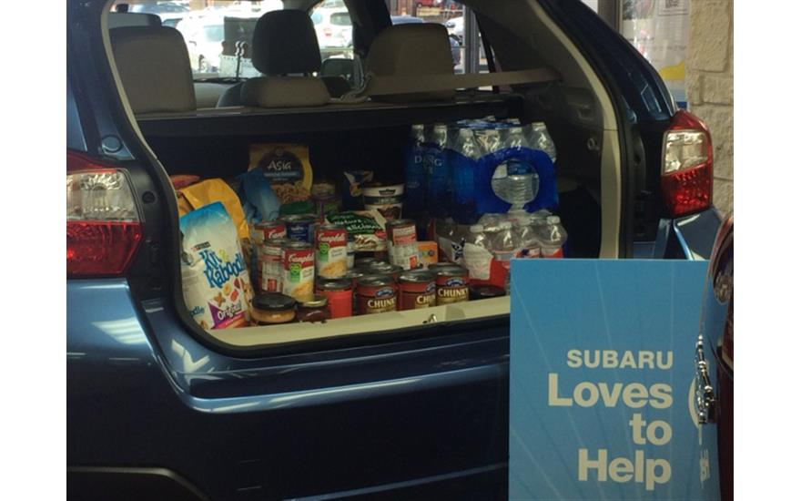 Stuff the Subaru with Jubilee