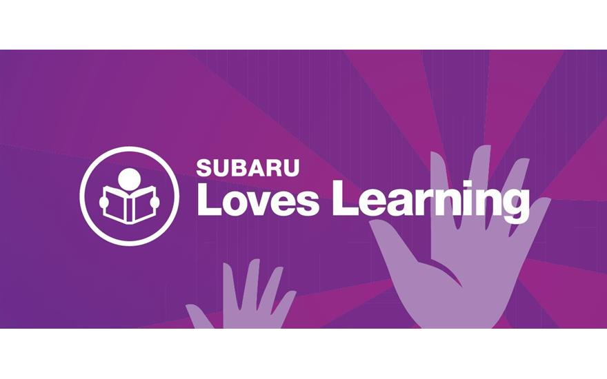 Subaru Loves Learning Book Drive - August 1-30