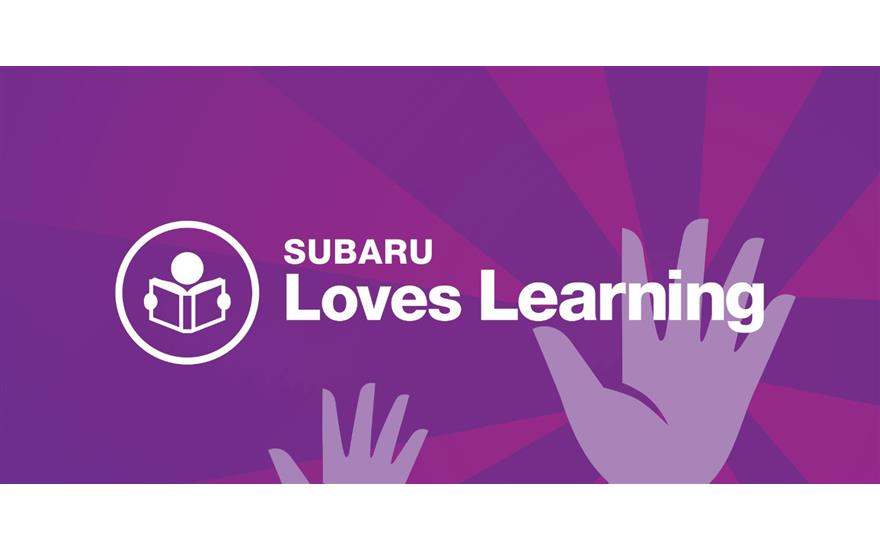 Subaru Loves Learning Book Drive August 1 - 31