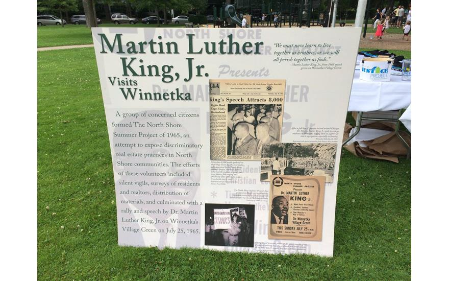 50th Anniversary of Martin Luther King in Winnetka