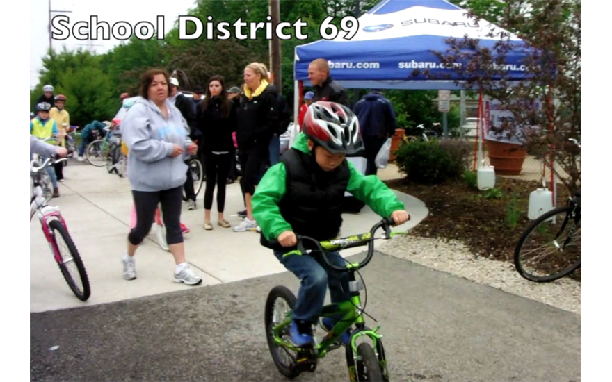 Bike Safety with School District 69
