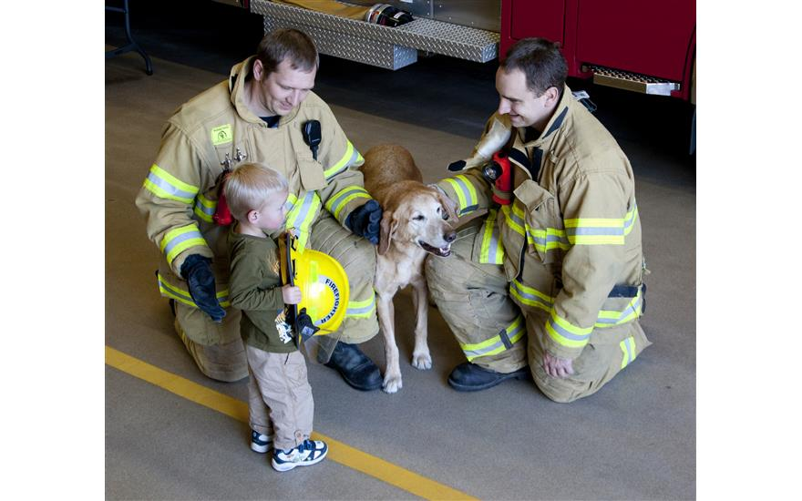Firefighters, Pets and Saving Lives